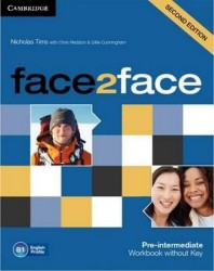 Face2face Pre-intermediate - Workbook without Key