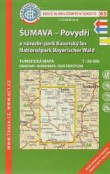 Sumava Povydri A Narodni Park Bavorsky Les 1 50 000 Dumknihy