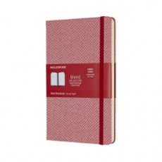 Moleskine Limited Edition Blend Collection Notebook Large Ruled Red