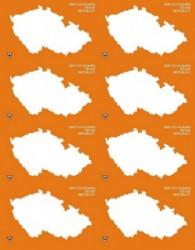 Obrysova Mapa Ceske Republiky Dumknihy Cz Knihy Po Vsech Strankach