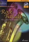 Rock ballads + CD Alt Saxofon