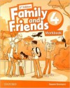 Family and Friends 4: Workbook - 2nd Edition
