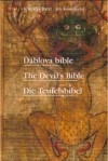 Ďáblova bible. The Devil's Bible. Die Teufelsbibel