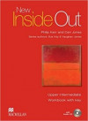 New Inside Out Upper Intermediate - Workbook with Key