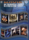 Movie instrumental solos for strings + CD (housle)
