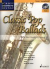 Classic Pop Ballads + CD Tenor saxopphone
